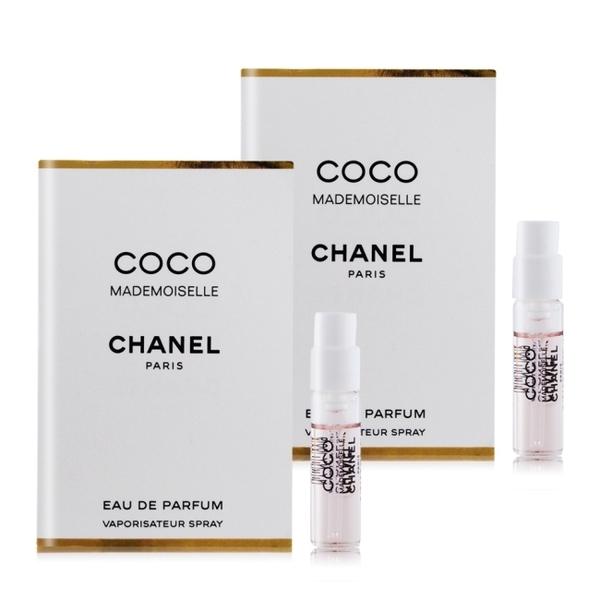 CHANEL 香奈兒 摩登 COCO 香水(1.5ml)X2 EDP-隨身針管試香