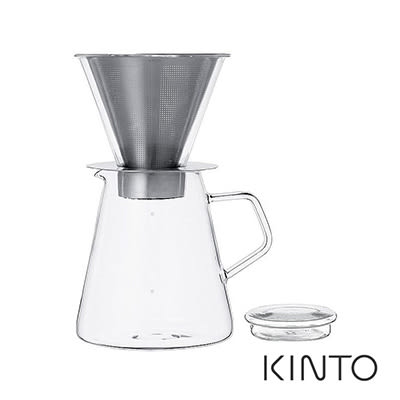 日本KINTO Carat咖啡沖泡壺組720ml《WUZ屋子》