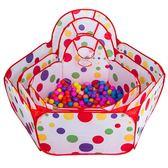 兒童海洋球池寶寶游戲圍欄可折疊球池嬰兒室內外爬行護欄波波球池