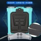 雙泵電動噴霧器農用背負式充電打藥機鋰電池消毒殺蟲桶高壓電噴壺 小艾時尚NMS