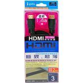 HDMI極致超薄傳輸線 3米