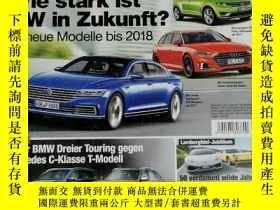 二手書博民逛書店auto罕見motor spor 汽車雜誌 2015年5月13日 英文版Y42402