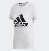 Adidas W MH BOS TEE 女款白色短T-NO.DZ0013