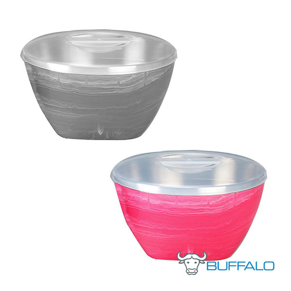 獨家限定43折|2色可選|牛頭牌 彩晶波紋隔熱碗 泡麵 湯碗 便當 餐碗 保鮮盒 飯碗 原廠正貨