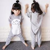 女童連身睡衣冬秋季嬰兒分腿爬服女寶寶哈衣冬裝兒童連身衣1234歲禮物限時八九折