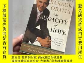 二手書博民逛書店The罕見Audacity of Hope:Thoughts on Reclaiming the American