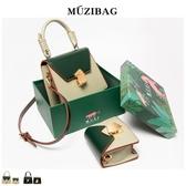 限定預購☞包包女包新款夏季流行時尚法國小眾洋氣質感斜挎小包【禮盒裝】Mandyc