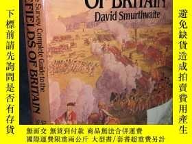 二手書博民逛書店1984年罕見BATTLEFIELDS OF BRITAIN B