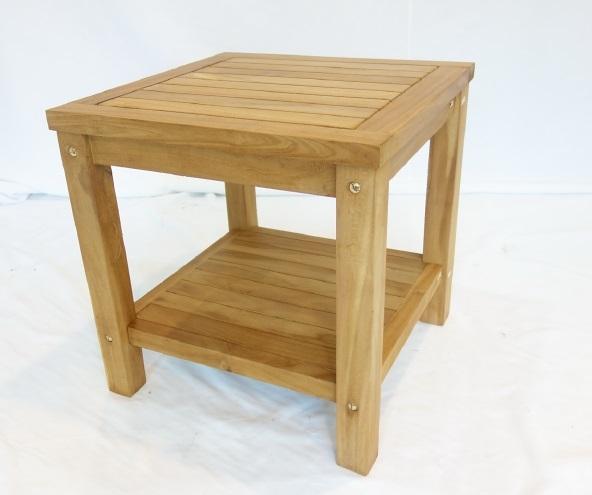 【南洋風休閒傢俱】戶外餐桌椅系列-50cm柚木茶几  實木桌  戶外沙發茶几 (#219T)