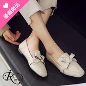 歐美時尚OL小方頭休閒懶人鞋/2色/35-43碼 (RX0439-A21-1) iRurus 路絲時尚