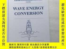 二手書博民逛書店wave罕見energy conversion(波能轉換——埃爾