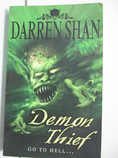 【書寶二手書T3/原文小說_AW8】Demonata (2): Demon Thief_Shan, Darren, 向.達倫