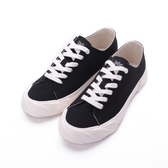 KANGOL 英式休閒帆布鞋 黑 6952200220 女鞋
