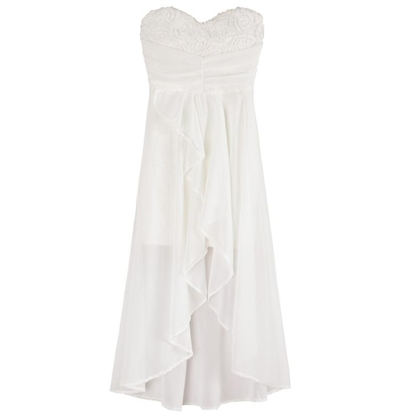 宴會網紗小禮服女夏新款性感抹胸V領露背修身顯瘦燕尾洋裝 檸檬衣舍