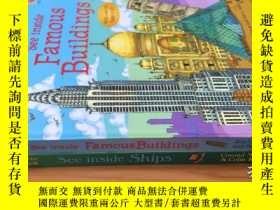 二手書博民逛書店See罕見Inside: Ships+See Inside: famous buildings【2本合售】Y4