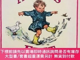 二手書博民逛書店ALFIE S罕見FEET((1997年香港印刷,平裝,英國格林威獎金牌得主Shirley Hughes插畫)
