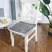 毛絨純色帶綁繫帶6色水晶絨超柔軟舒適椅子坐墊餐椅墊 蘿莉小腳丫