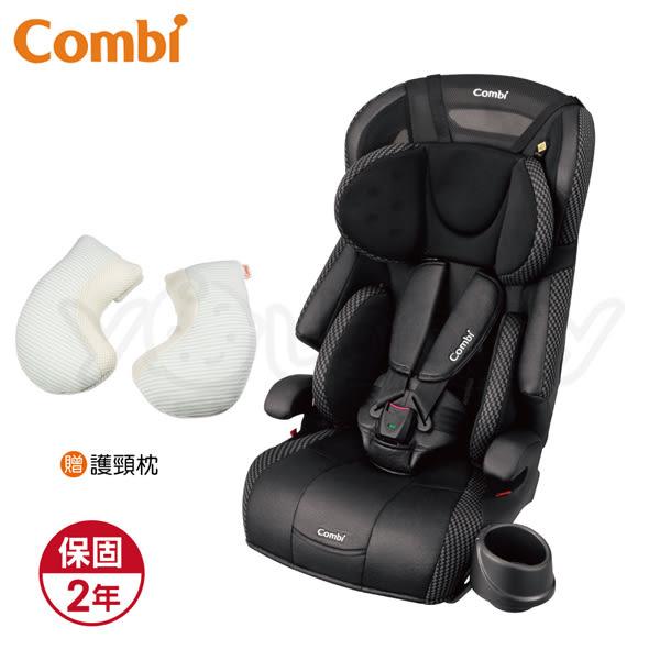 康貝 Combi Joytrip EG 成長型汽車安全座椅-動感黑 (贈 安睡托護頸枕+尊爵卡)