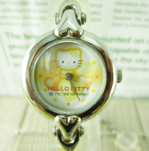 【震撼精品百貨】Hello Kitty 凱蒂貓~黃心【共1款】