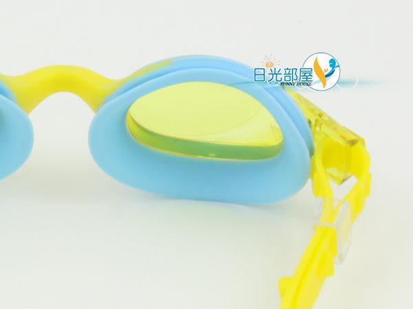 *日光部屋* Nile (公司貨)/ NGL-1120J-YEL 酷炫雙色/兒童泳鏡(日本品牌)
