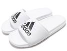 adidas系列鞋款 男款防水運動拖鞋-...
