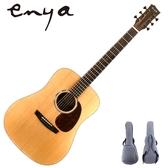ENYA嚴選ED-Q1特級雲杉單板吉他-41吋D筒/印度玫瑰木側板/附贈千元好禮