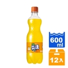 芬達 橘子汽水 600ml (12入)/箱 【康鄰超市】