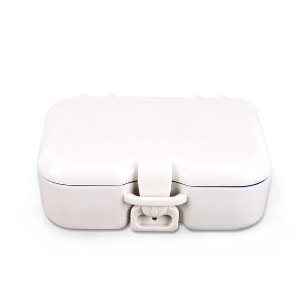 假牙盒帶鏡浸泡盒老人牙套盒隱適美盒儲牙盒攜帶器盒保持器盒 星河光年