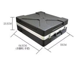 凱傑樂器 STANDER ABS-12UK 塑鋼箱 機櫃 提箱 瑞克箱