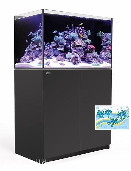 {台中水族}以色列原裝Red Sea - REEFER 250珊瑚礁岩水族套缸(黑)  特價 90*53*50cm 超白玻璃12mm