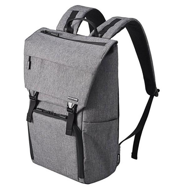 HAKUBA SHELL City04 FLAP backpack 後背包 【灰 HA206623 / 黑 HA206630】 PlusSHELL