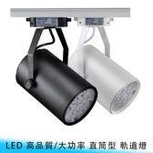 【妃航】LED18W 6500K 高品質 220V/大功率 直筒型 投射燈/軌道燈 服飾店/酒店/客廳/天花板