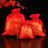 中式結婚慶用品回禮袋糖果布袋