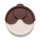 MINIWARE 天然寶貝碗 天然寶貝分隔餐盤組 牛奶深可可