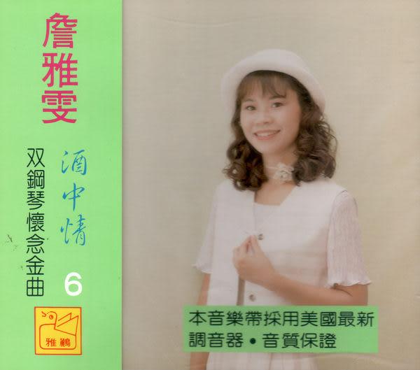 詹雅雯 双鋼琴懷念金曲 第6集 CD (音樂影片購)