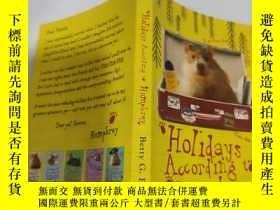 二手書博民逛書店holidays罕見according to humphrey 漢弗萊的假期Y200392