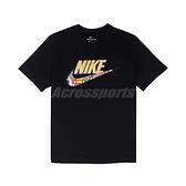 Nike 短袖T恤 NSW Top 黑 彩色 男款 短T 國旗 運動休閒 【ACS】 CT6551-010