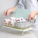 不銹鋼水槽瀝水架洗菜籃子瀝水籃碗碟盤收納...