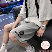大碼加大夏季休閒短褲男寬鬆直筒運動薄款五分褲【大碼百分百】
