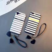 蚕iphone6splus手機殼軟全包蘋果6s簡約情侶掛繩7plus韓版8女X