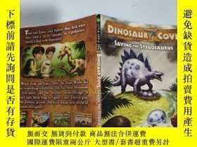 二手書博民逛書店saving罕見the stegosaurus 拯救劍龍...Y200392