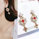 《Caroline》★韓國熱賣造型時尚  優雅性感  絢麗閃亮動人 耳環70537
