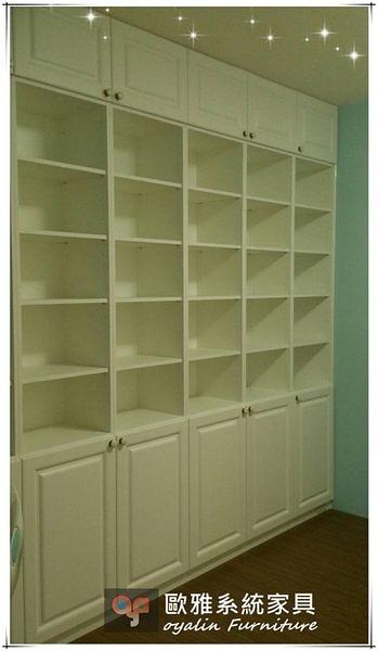 【歐雅系統家具】 系統家具  系統收納櫃  雪白優雅鄉村風呈現 特價56056