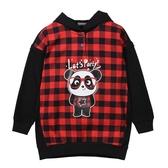 『小鱷魚童裝』熊貓連帽T恤(08號~18號)532455