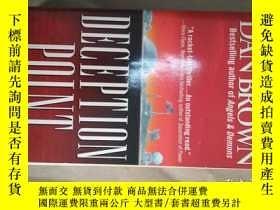 二手書博民逛書店Deception罕見Point終極騙術(英文原版小說) BT