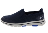 SKECHERS系列-GO WALK 5 APPRIZE 男款運動鞋-NO.55510NVY