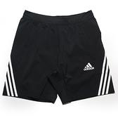ADIDAS 短褲 AEROREADY 黑白 三線 健身 排汗 訓練 運動 男 (布魯克林) GM0643