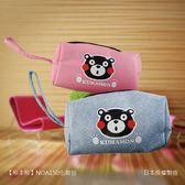 【KUMAMON 酷MA萌】NO.A150熊本熊化妝收納包 防水 收納 筆袋(兩色可選)