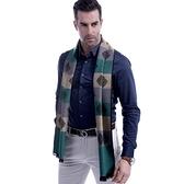 羊毛圍巾-英倫時尚方塊條紋秋冬防寒男女披肩3色73ts15【時尚巴黎】