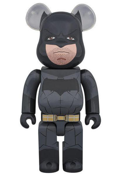 Poco+玩具部 全新 bearbrick BE@RBRICK 400% DC 蝙蝠俠對超人 正義曙光 BATMAN 蝙蝠俠